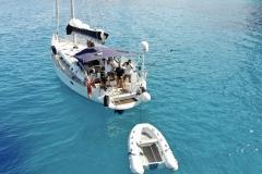 Una fantastica immagine di Blue Magic in Sardegna
